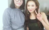 林志玲和傅园慧合影照片曝光原来傅园慧化上妆颜值还是很高