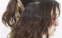 烫发后怎样扎头发好看图解步骤简单又好看五股辫斜编发