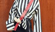 Angelababy和范冰冰撞衫合照同穿黑白条纹气质大PK