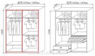 小空间衣柜怎么选不占地方利用率高节省空间各种衣柜样式盘点
