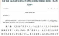 上交所集合竞价新规18年8月20日起正式实施分析